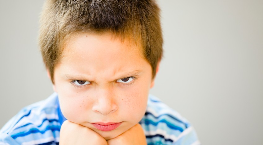 angry kid student - photo #2
