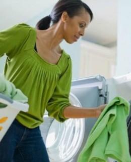 Mom laundry