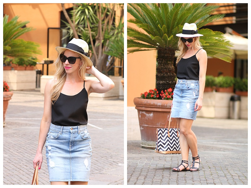 What to wear with a jean skirt summer – Modern skirts blog for you