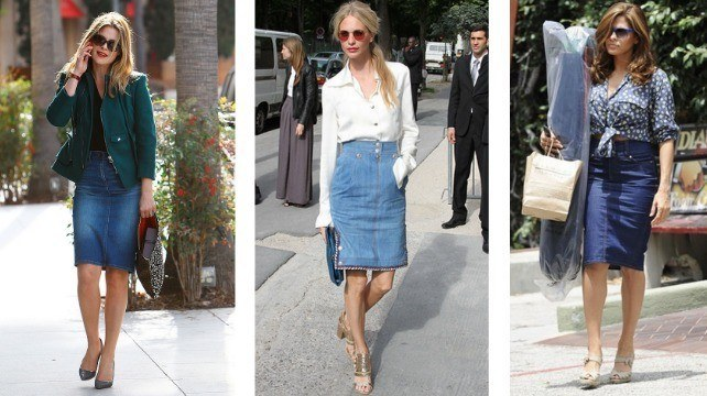 4 Trendy and Fresh Ways to Wear a Denim Skirt | Fashion Women Buzz